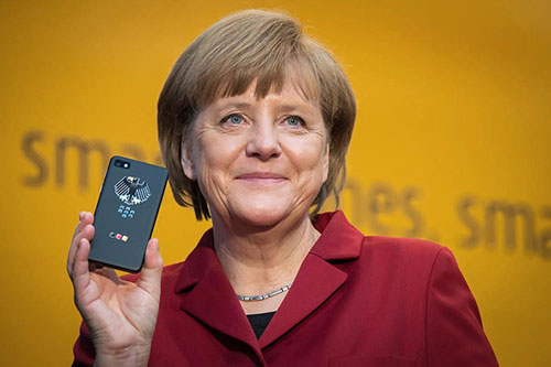 Merkel-Blackberry